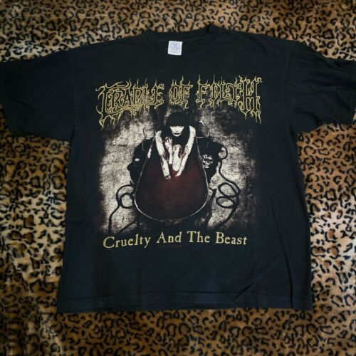 Cradle Of Filth Blue Grape XL Cruelty Brought Thee