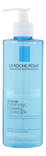 La-Roche Posay Toleriane Purifying Foaming Cleanser 13.5 fl oz. Facial Cleanser