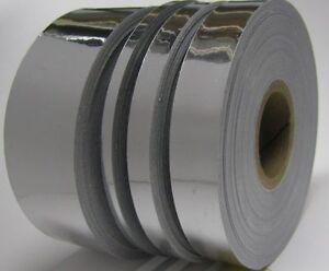 Nastro vinile stripe auto adesivo a specchio cromato decorazione 10/25/50/200mm