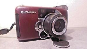 OLYMPUS ZOOM LT 105 appareil photo compact argentique 35mm 38-105 mm TB ETAT
