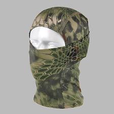 Camouflage Balaclava Full Face Mask Camo Hunting Airsoft Paintball Foliage Camo