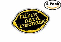 Mikes Hard Lemonade Alcohol Decal Diecut Sticker 4 Stickers