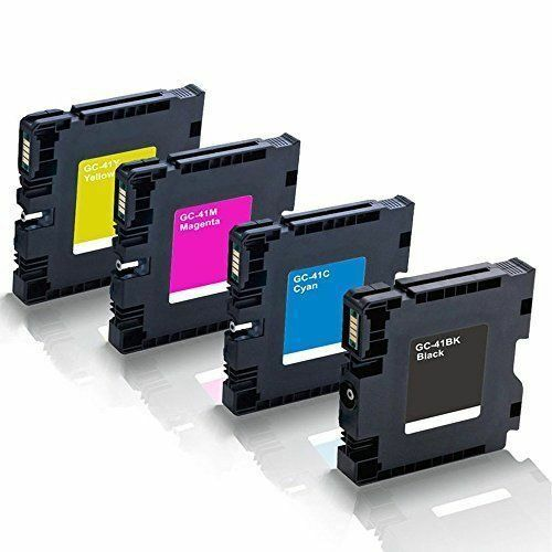 4 Pack RICOH GC41 ink cartridge For SG3110DNw SG 3110DN with pigment ink