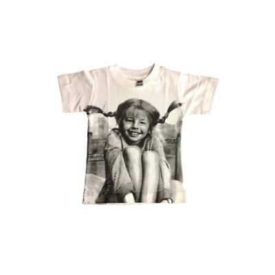 Bambino: Abbigliamento T-shirt Bimbo/a Movida87 Pippi Evident Effect T-shirt, Maglie E Camicie