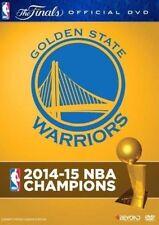 NBA Champions 2015 Golden State Warriors DVD Blu-ray NEU Highlights Curry LeBron