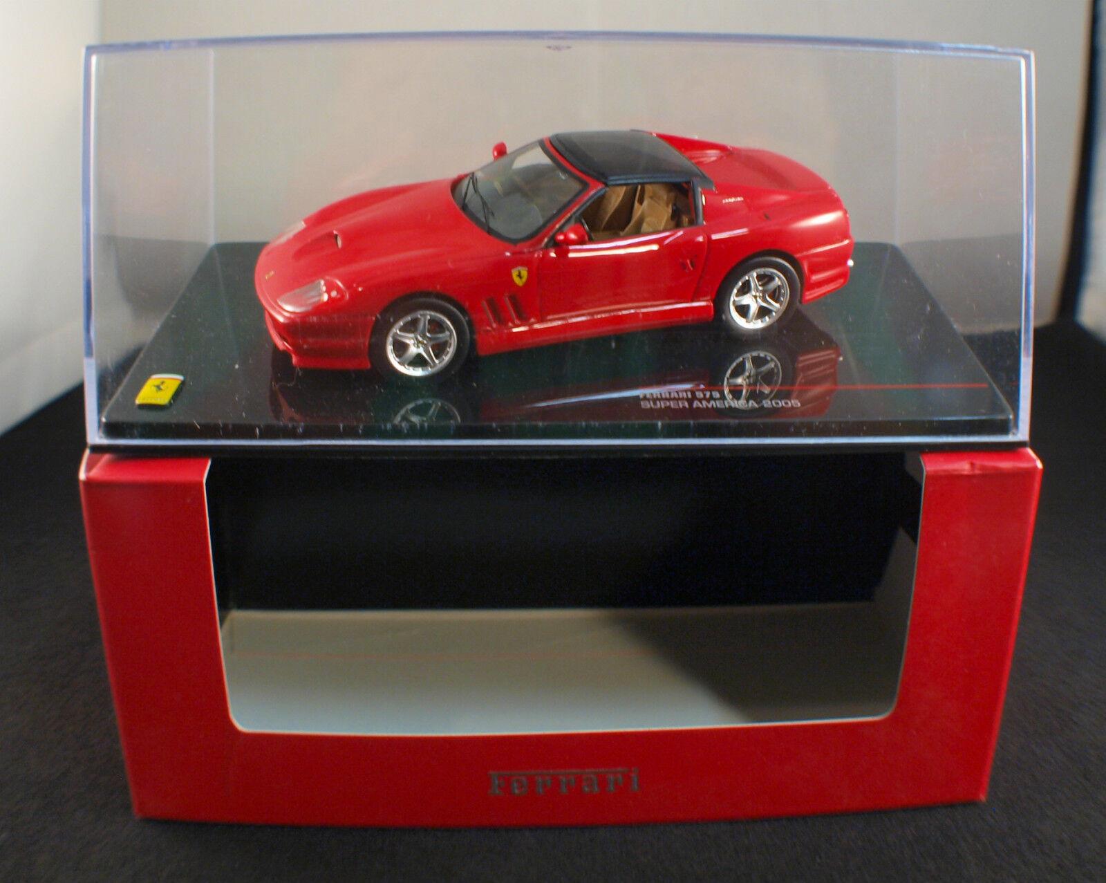 IXO ◊FER026 Ferrari 575 Super America 2005 rouge ◊1 43◊ boxed en boite ◊ RARE