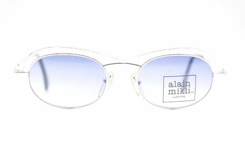 Alain Mikli 1334 Silber Oval Sonnenbrille Sunglasses Brille Neu ZuverläSsige Leistung