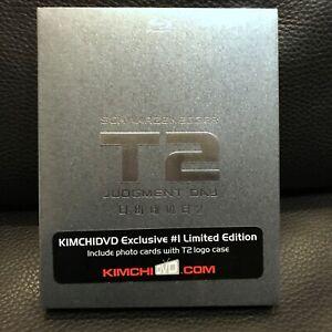 TERMINATOR2: JUDGEMENT DAY KimchiDVD Exclusive Blu-ray Steelbook NEW SEALED