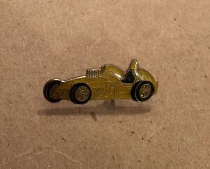 Lot Of (16) Yellow Vintage Race Racing Car Enamel Lapel Pin Pins
