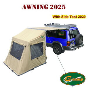 G Camp 2025 Awning Pop Up Side Tent Roof Top Camper