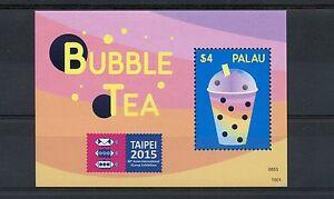 Palau 2015 MNH Bubble Tea Taipei Asian International Stamp Exhibition 1v S/S