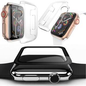 4-curva-completo-d-0-3-templado-vidrio-H9-silicona-Funda-para-Apple-Watch-4-Gen-40