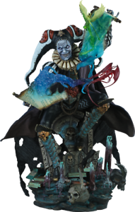 Court of the Dead MALAVESTROS Chronicler-Fool Premium Format Sideshow Statue