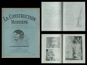 Adaptable La Construction Moderne - N°34 - 1927 - Marseille, Gare Saint Charles, Escalier