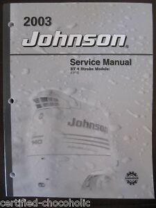 2003 johnson service manual 9 9 and 15 hp 4 stroke free priority rh ebay com Johnson 9.9 Repair Exploded View of 9.9 Johnson