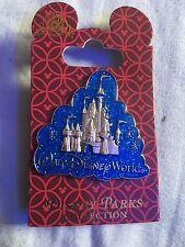 WDW Disney Parks Collection Pin - Cinderella Castle Glitter Cloud