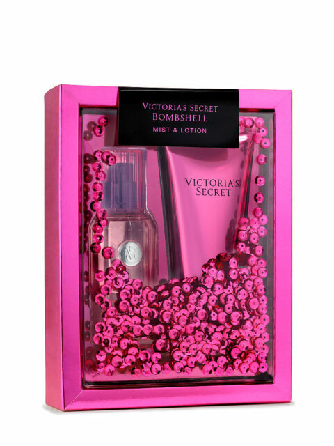 b4f58378b68 Victoria s Secret Bombshell Gift Set 2 Pieces Fragrance Mist and Lotion  Travel