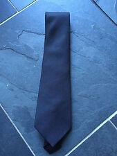 PAUL SMITH Silk TIE - Textured Plain Black  - 9cm Blade - BRAND NEW