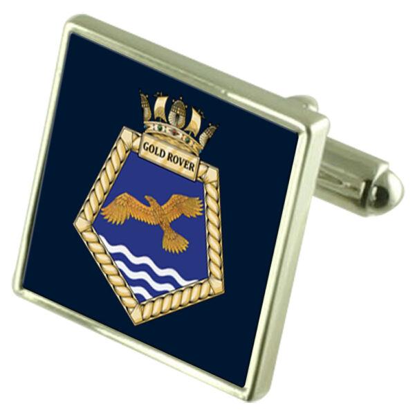 Streng Royal Navy Königliche Fleet Auxiliary Gold Rover Manschettenknöpfe NüTzlich FüR äTherisches Medulla