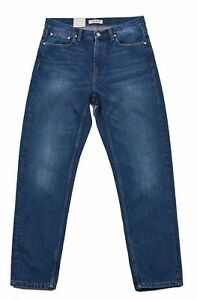 Taglia Jeans scuro Authentic Lady zip e W27 moschettone Denim Carhartt con Women Blu 01EqwI