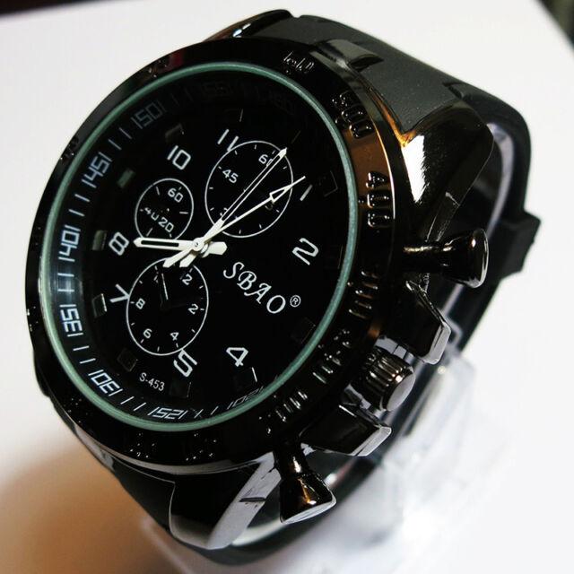 2015 Fashion Men's Watch Luxury Stainless Steel Sport Analog Quartz Wrist Watch