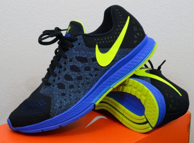 finest selection 90499 9c3e5 NEW Nike Air Zoom Pegasus 31 Size 7.5 Mens Running Shoes Black Cobalt Volt