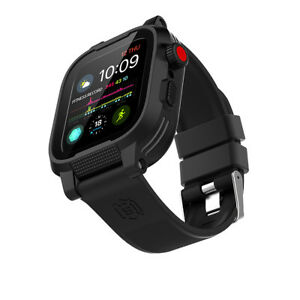 Details about for Apple Watch Series 4 Waterproof Armor Case Cover+Silicone  Band Strap 40/44mm