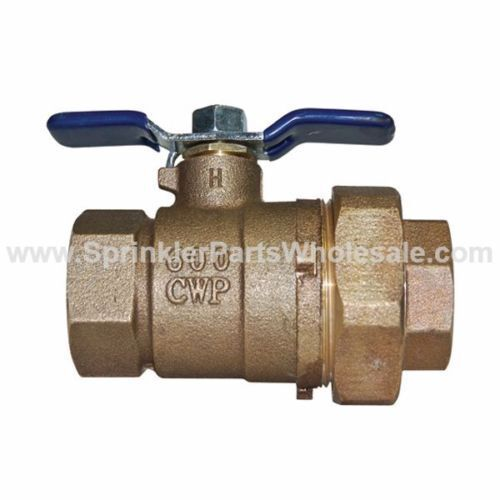 """Febco 3//4/"""" Union Ball Valve Lead Free Tapped /& Non-Tapped 781294LL 781288LL .75"""