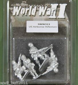 Artizan SWW313: 28mm US Airborne Riflemen (4 Figures)