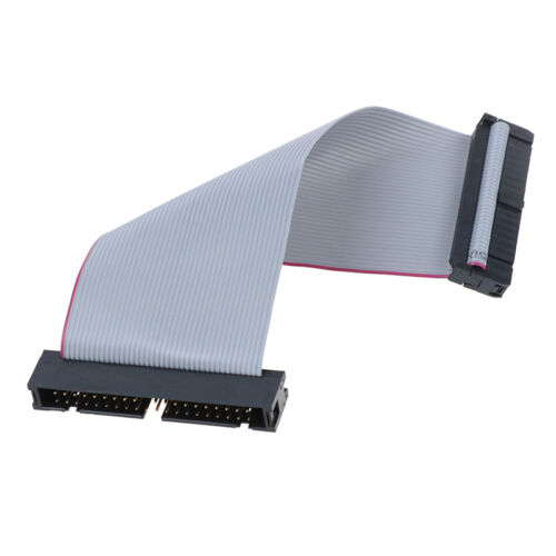 IDE 40Pin Male to female pata hard drive hdd extension flat ribbon cable 5inchNI