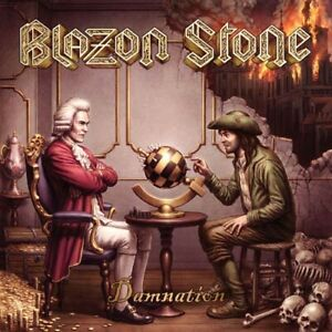 BLAZON STONE Damnation CD Stormspell Records 2021