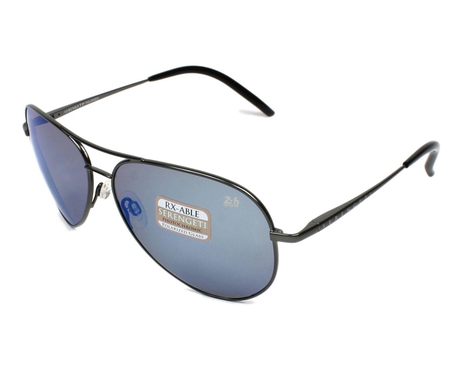 ec74e602a3f Serengeti Panarea Sunglasses Le Mans 24h Gunmetal Polarized 555nm Blue 8486  for sale online