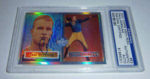 PACKERS-Paul-Hornung-signed-1957-Topps-Archives-card-63-AUTO-PSA-DNA-Autograph