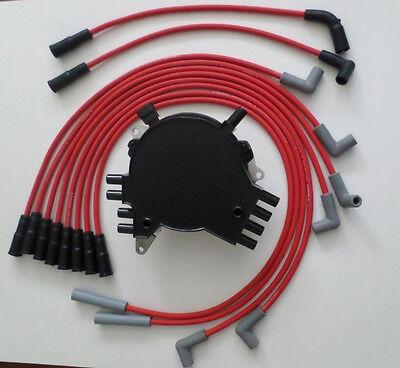 Optispark II Distributor Red 8.5mm Spark Plug Wires Coil 1995 Corvette LT1 5.7L