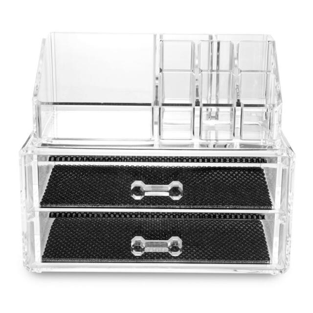 Acrylic Makeup Make Up Display Stand Cosmetic Storage Fashion Chic