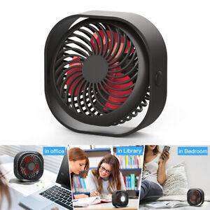Mini-USB-Desktop-Fan-Portable-Fan-3-Speeds-with-2000mAh-Battery-Rechargeable