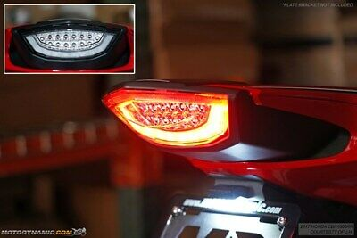 Sequential Led Tail Light Integrated Turn Signals fit HONDA 97-05 VTR1000F