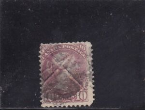 Canada Stamp #40 used