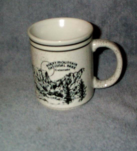 Rocky Mountain National Park Np Colorado Co Stoneware Mug Impressed Picture Ebay
