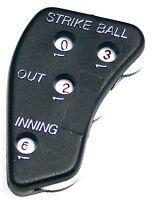 M^powered Umpire Indicator Sleek Plastic Design With Strike, Ball, Out & Inning