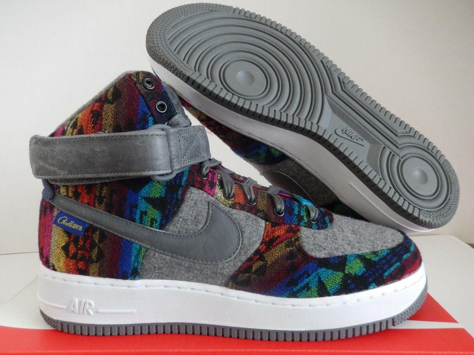NIKE AIR FORCE 1 HIGH PREMIUM SZ PENDLETON ID