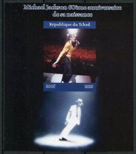 Tschad 2018 MNH Michael Jackson 1v Impf M/S I Popstars Musik Stars Briefmarken
