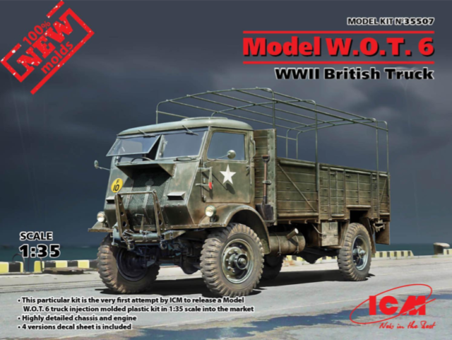 ICM 35507 # 1:35 Model W.O.T.6,WWII British Truck in 1:35