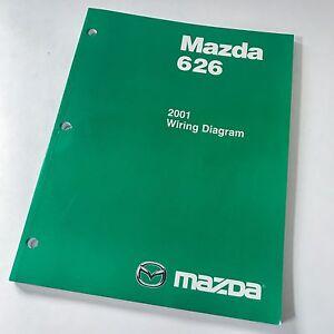 2001 Mazda 626 Factory OEM Wiring Diagram Workshop Repair ...