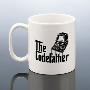 Image Is Loading CODEFATHER MUG Computer Geek Cup IT Coding Birthday