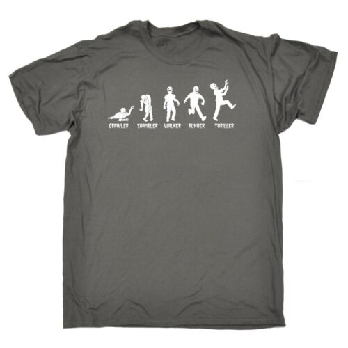 Zombie Genus Evolution T-SHIRT humour horror evil funny birthday gift present