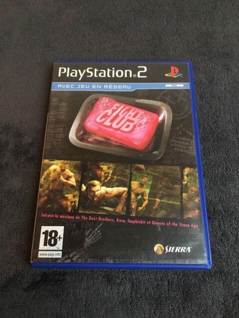 PS2 Fight Club PAL Fr CD état Neuf  Playstation 2