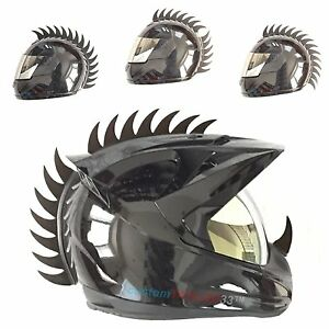 Warhawk/Mohawk Rubber Saw Blade Helmet Accessory Piece (Helmet Not Included)