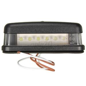 LED-LICENSE-NUMBER-PLATE-LIGHT-UTE-BOAT-TRUCK-TRAILER-CARAVAN-WATERPROOF