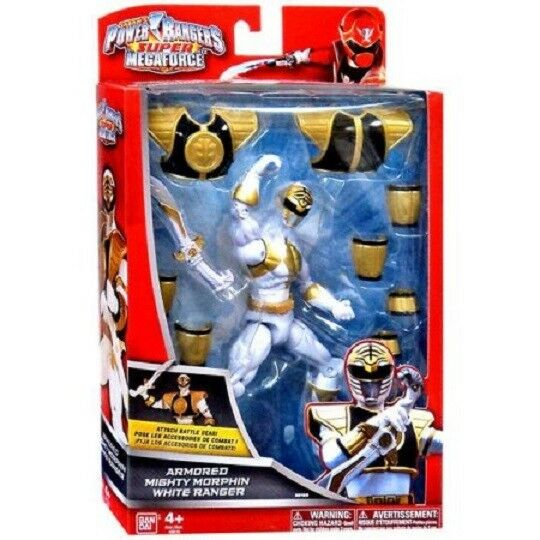 Power Rangers Super Megaforce Armed Mighty Morphin ljus 65533.